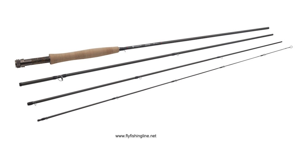 Image of the Hardy Wraith fly rod in 4 sections